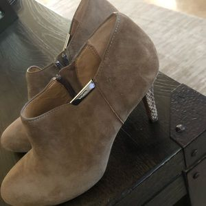 Coach booties suede... Excellent condition